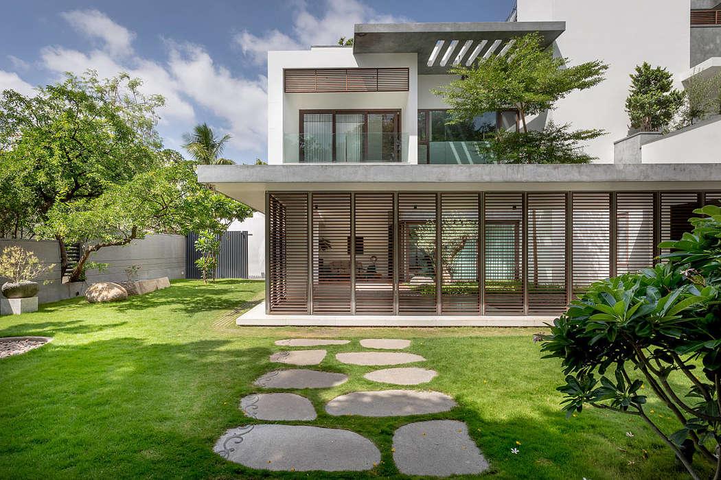 An overview of Courtyard Villa by Moriq