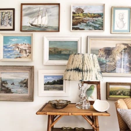 Tips to create a creative gallery wall.
