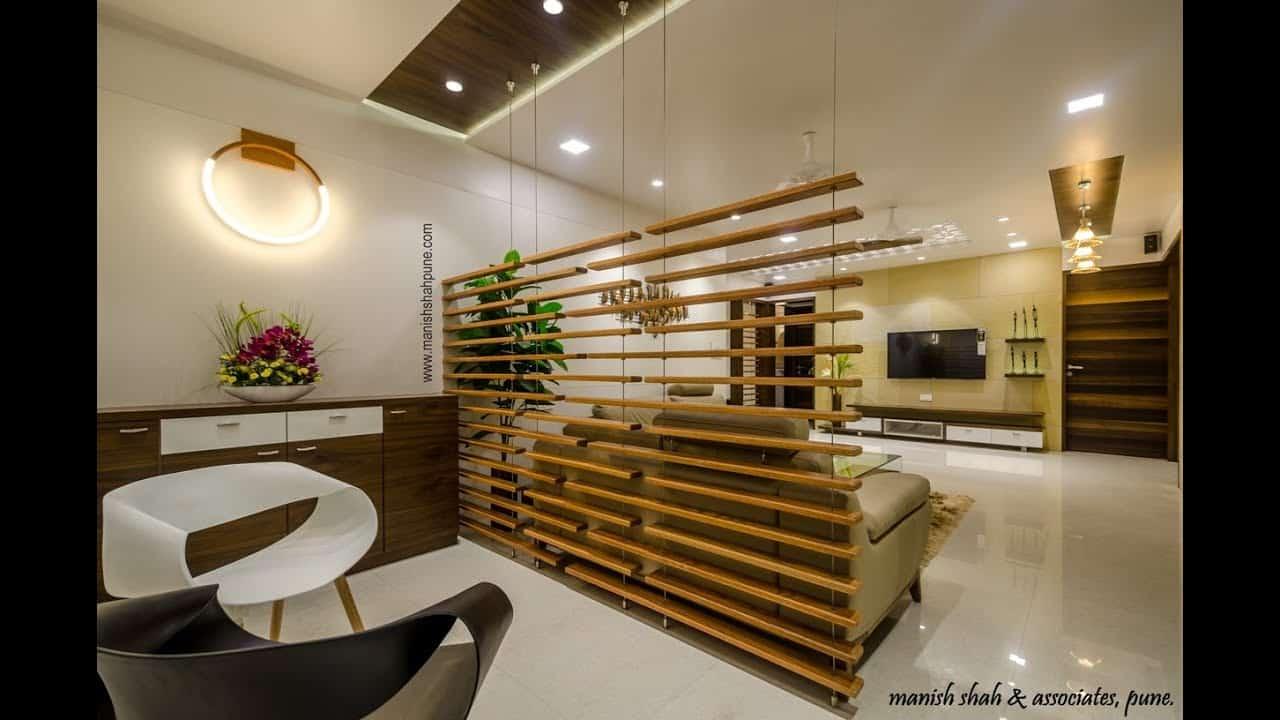 a 4 bhk flat with modern interior design