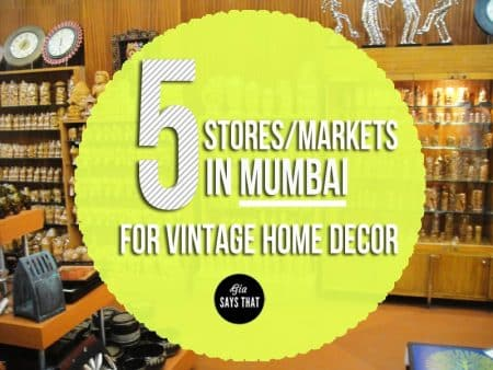 Looking for vintage decors for home in Mumbai? Click here!