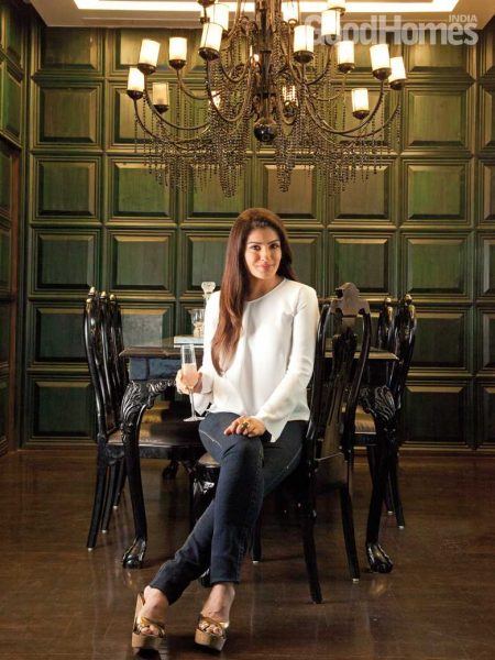 Explore Raveena Tandon's home in Mumbai